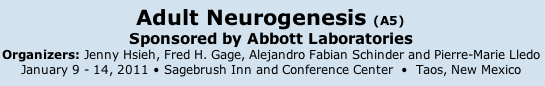 keystone symposium on adult neurogenesis